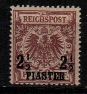 German Offices in Turkey Scott 12 Mint hinged (Catalog Value $37.50) [TC873]