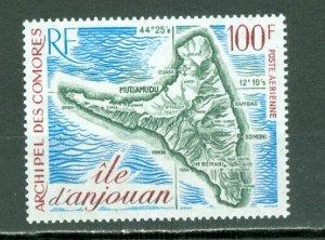 COMORO ISL. 1972 ANJOUAN #C49...MNH...$13.50