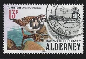 Alderney  used s.c.#  14