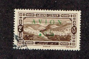 Lebanon  1925  C9  Used