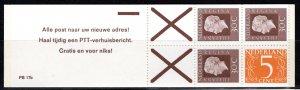Netherlands Scott # 461 (3), 341,2 label X,mint nh,cpl. stamp booklet, se-tenant