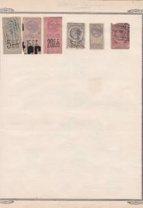 french colonies stamps page ref 17125