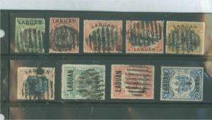 Labuan 110-118 Used F-VF