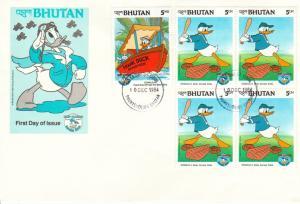 Bhutan Scott 461, 467 Unaddressed.