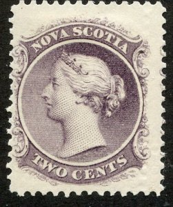 Nova Scotia, Scott #9, Unused, Hinged