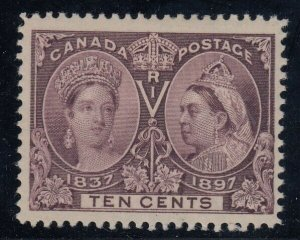Canada Sc 57i, MHR, Major Re-Entry from Pos. 5