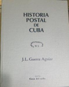 O) 1983 CUBA - CARIBBEAN, BOOK,HISTORIA POSTAL CORREO MARITIMO -POSTAL HISTORY