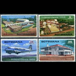 BOTSWANA 1966 - Scott# 1-4 Natl.Assembly Set of 4 LH