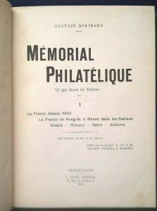1932      FRANCE DEPUIS 1880 - Hongrie Memel Balkans Alsace Monaco Sarre Andorre