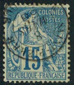 French Colonies Scott 51 Used.