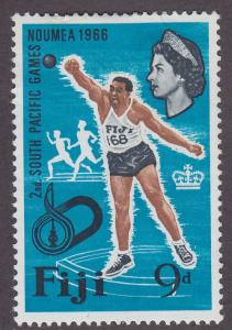 Fiji 227 South Pacific Games 1966