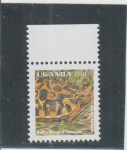 Uganda  Scott#  1336  MNH  (1995 Bell's Hinged Tortoise)