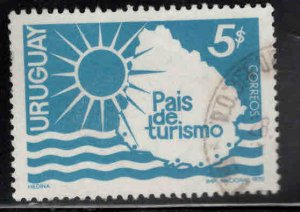 Uruguay Scott 778 Used stamp