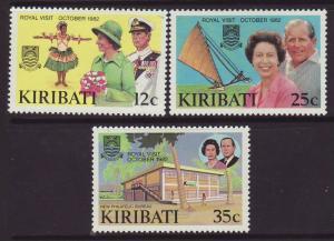 1982 Kiribati Royal Visit Set Mint