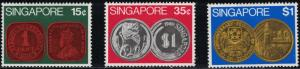 Singapore SC150-152 Singapore Coins MNH 1972