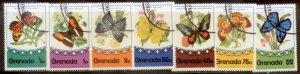 Grenada 1975 SC# 660-6 Butterflies CTO