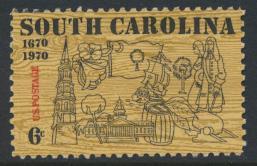 USA Used  SC# 1407  South Carolina see details