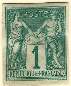 French Colonies (Scott #24) VF Mint hr...Buy before prices go up again!