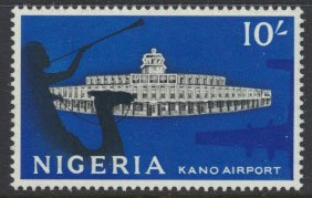 Nigeria  SG 100 SC# 112 MH 1961 Definitive Kano Airport  please see scan