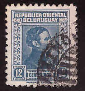 Uruguay Scott 481 used stamp