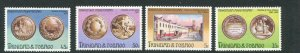 Trinidad & Tobago MNH 256-9 Coins On Stamps