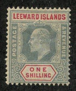 Leeward Isl, Scott #26, Unused, Hinged