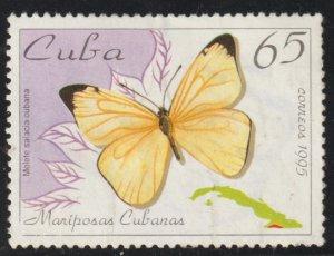 1995 Cuba Stamps Sc 3647 Butterfly Melete salacia MNH