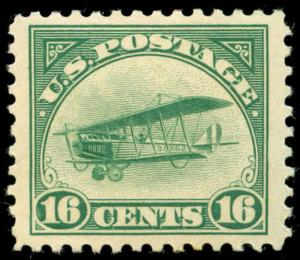 momen: US Stamps #C2 Mint OG Sound Choice Jumbo