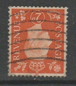 GB sg465wi 2d Orange fine used inverted watermark.
