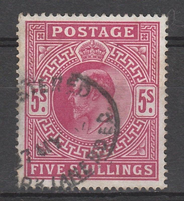 GREAT BRITAIN 1902 KEVII 5/-