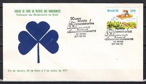 Brazil, 1977 issue. Girl Scouts 50th Anniv. 05/JUN/77 cancel. Cachet cover. ^