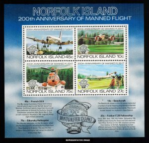 Norfolk Islands Scott 313a Mint never hinged.