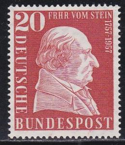Germany #776, Baron von Stein, NH, Half Cat.
