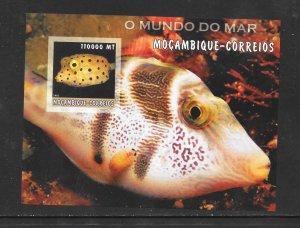 FISH - MOZAMBIQUE #1677  MNH