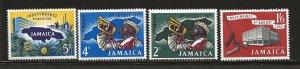JAMAICA SC# 181-84   VF/MNH