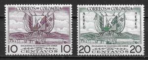 Colombia 635 C269 1955 Korean War set NH
