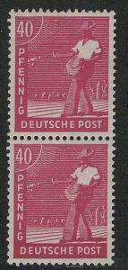 Germany AM Post Scott # 568, mint nh, pair