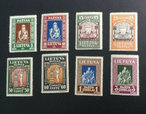 Lithuania Sc# 277C-277K Complete Set MNH Mint Never Hinged
