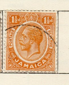 Jamaica 1912 Early Issue Fine Used 1.5d. NW-114305