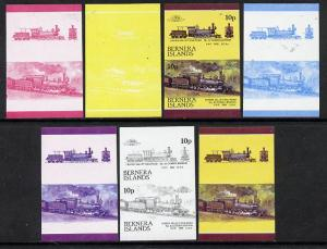 Bernera 1983 Locomotives #2 (Lehigh Valley Railroad) 10p ...
