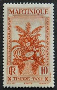 DYNAMITE Stamps: Martinique Scott #J27 – MINT hr