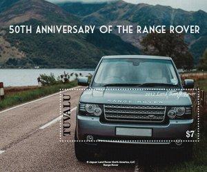 2020/12- TUVALU - RANGE ROVER   1V  complet set    MNH ** T