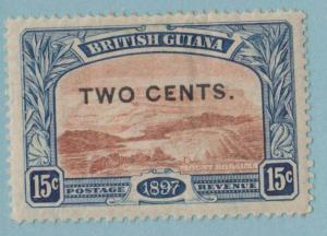 BRITISH GUIANA 159 MINT HINGED OG * NO FAULTS EXTRA FINE !