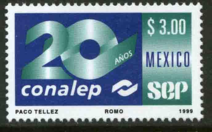 MEXICO 2175, Natl Commission for Professional Education 20th Ann MINT, NH. VF.