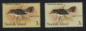 Norfolk Grey Flycatcher 3c Strong colour variety SG#105