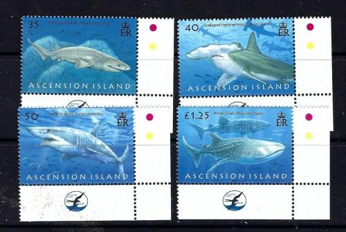 Ascension 936-39 NH 2008 Sharks SV 2017 $12.50