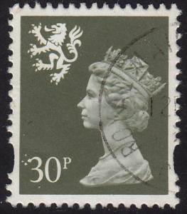 GB Scotland - 1993 - Scott #SMH67 - used - Machin