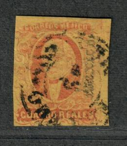 Mexico Sc#10 Used/VF, Cv. $80