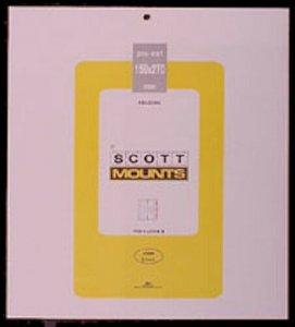 Scott/Prinz Pre-Cut Souvenir Sheets Small Panes Stamp Mounts 159x270 #1004 Clear