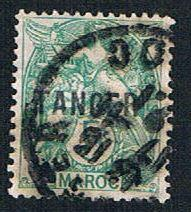 French Morocco 75 Used Overprint (BP6717)
